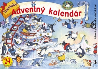 Adventný kalendár s tučniakmi
