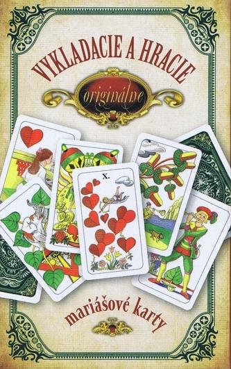 Originálne vykladacie a hracie mariášové karty - Jan Hrubý