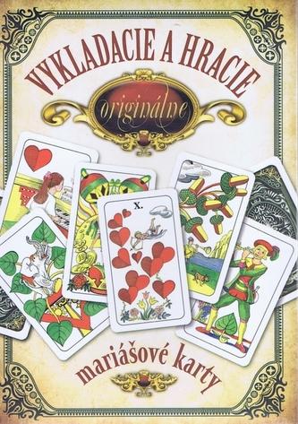 Darčekový komplet - Vykladacie a hracie originálne mariášové karty - Jan Hrubý