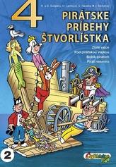 4 pirátske príbehy štvorlístka