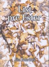 List pre Ester
