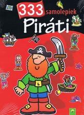 Piráti - 333 samolepiek