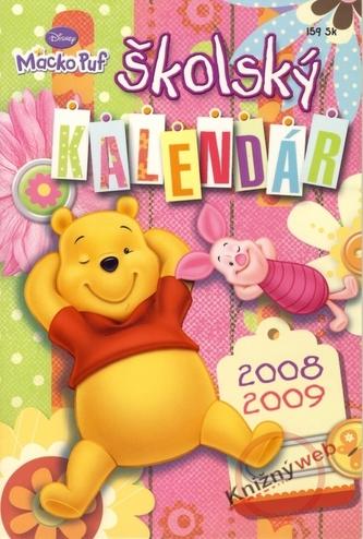 Školský kalendár 2008-2009 - Macko Puf