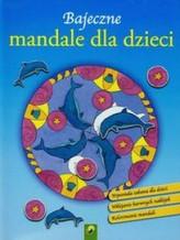 Kúzelné mandaly s farebnými samolepkami (modrá)