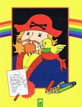 Piráti - maľovánky - žlté