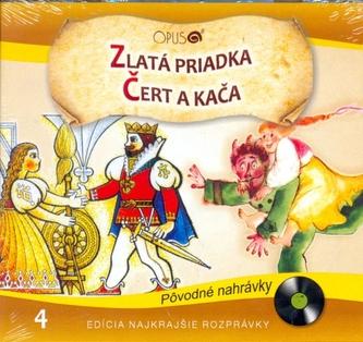 CD-Najkrajšie rozprávky 4-Zlatá priadka, Čert a Kača