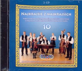 Najkrajšie z najkrajších 10 - 2 CD