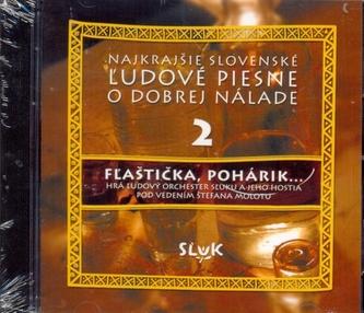 Najkrajšie slov. ľud. piesne 2-CD-Fľaštička, pohárik...