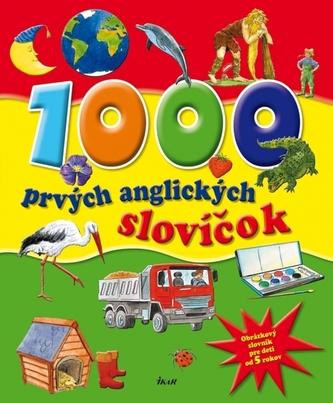 1000 prvých anglických slovíčok