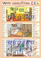 Obrázková angličtina 8 - byt