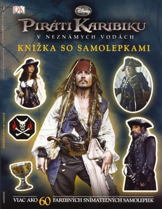 Piráti Karibiku - V neznámych vodách - Knižka so samolepkami - Disney