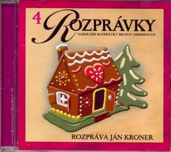 CD-Najkrajšie rozprávky bratov Grimmovcov(4) - autor neuvedený