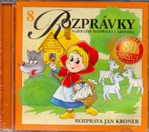 CD - Rozprávky - rozpráva Ján Kroner(8)