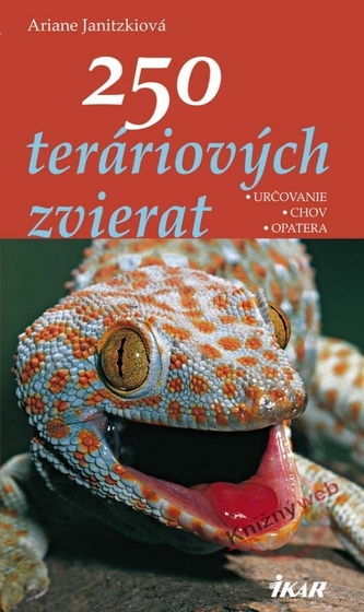 250 teráriových zvierat