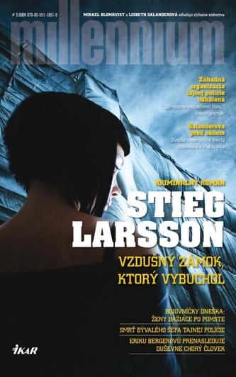 Vzdušný zámok, ktorý vybuchol - Stieg Larsson