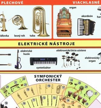 Hudobné nástroje - Kupka a kol. Petr