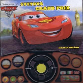 Autá 2 - Svetová grand prix - Hracia knižka