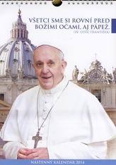 Nástenný kalendár 2014 (sv.Otec František)