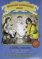 Slovenské prostonárodné povesti dľa P.E.Dobšinského 19 CD edícia