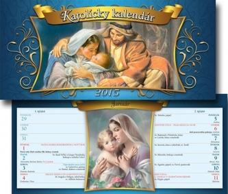 K-Katolícky kalendár 2015 stolový S16