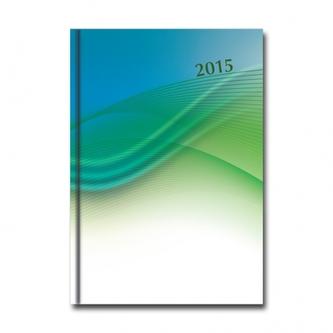 D - Denný diár PROFI  - modro/zelený