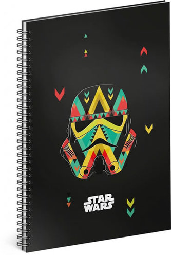 Blok Star Wars Black, 14,8 x 21 cm