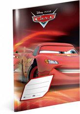 Sešit Cars Red, 14,8 x 21 cm