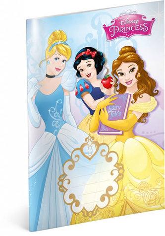Presco Group - Sešit Princess Trio, 14,8 x 21 cm