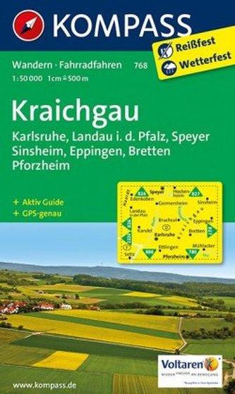 Kompass Karte Kraichgau