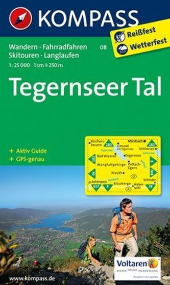 Kompass Karte Tegernseer Tal
