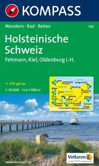 Naturpark Holsteinische Schweiz     740                    NKOM 1:50T