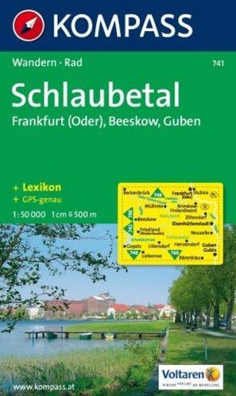 Schlaubetal   (1043) 741                   NKOM 1:50T