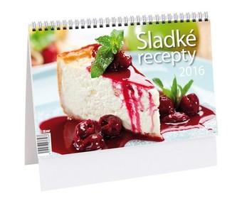 Sladké recepty - stolní kalendář 2016