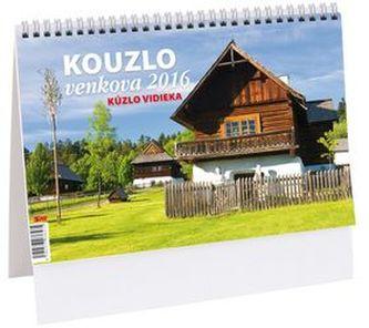 Kouzlo venkova - stolní kalendář 2016