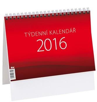 Týdenní kalendář - stolní kalendář 2016