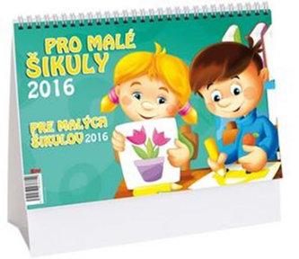 Pro malé šikuly - stolní kalendář 2016