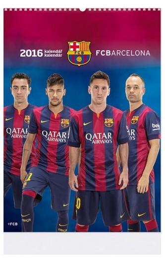 Barcelona - nástenný kalendář 2016
