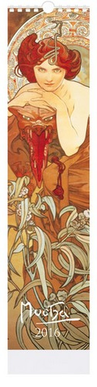 Alfons Mucha - nástenný kalendář 2016