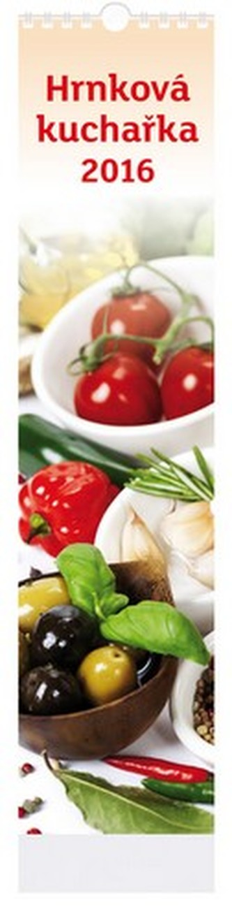 Hrnková kuchařka - nástenný kalendář 2016