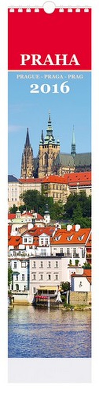 Praha - nástenný kalendář 2016