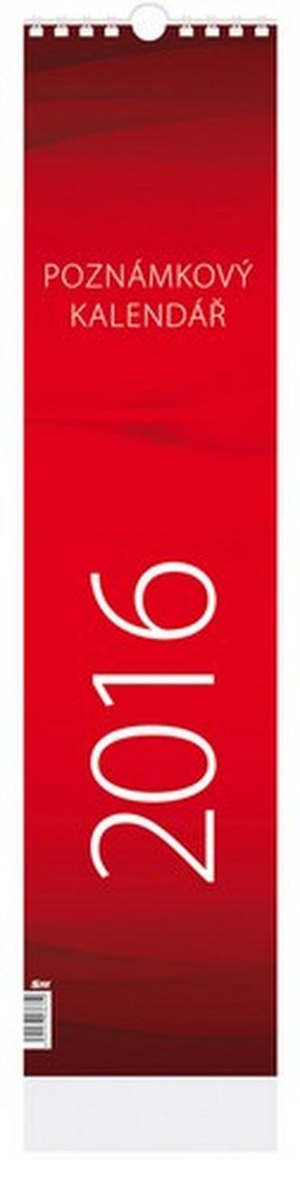 Poznámkový - nástenný kalendář 2016