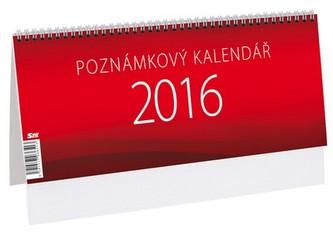 Poznámkový kalendář - stolní kalendář 2016