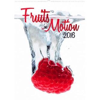 Kalendář nástěnný 2016 - Ovoce v pohybu,  33 x 46 cm - prodloužená verze