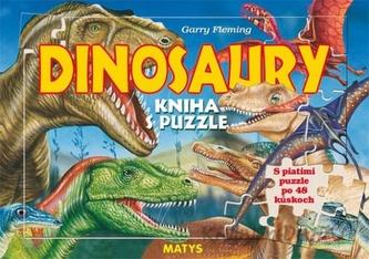 Dinosaury - Kniha s puzzle