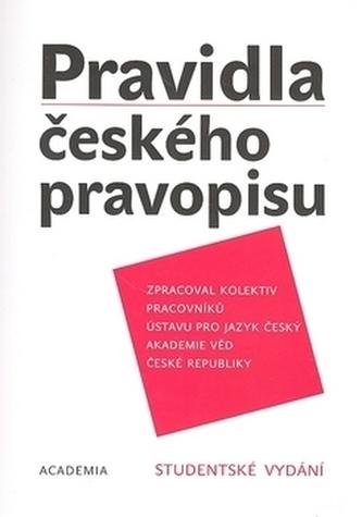 Pravidla českého pravopisu - AV ČR