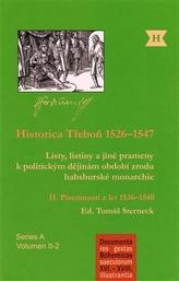 Historica Třeboň 1526–1547