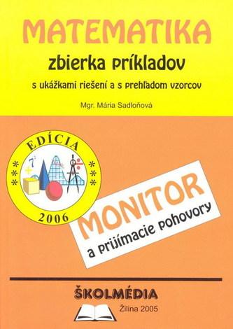 Matematika zbierka príkladov-Monitor a prijímacie pohovory - 6.vy