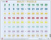 Puzzle MAXI - Násobení 2-90 /80 dílků