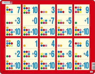 Puzzle MAXI - Sčítání do 10 II. /10 dílků