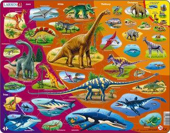Puzzle MAXI - Dinosauři/85 dílků